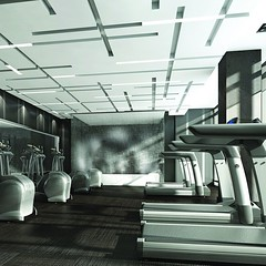 The fitness room at #87Peter is your physical training destination #LifeStoreys