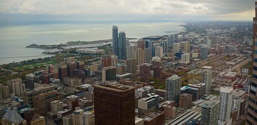 chicago skyline view lakemichigan starstower willistower openhousechicago