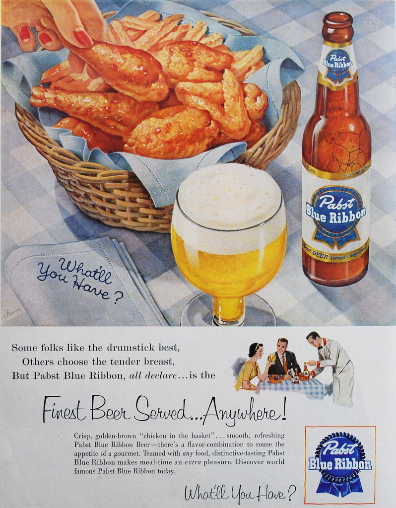 Pabst-chicken-and-fries