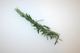 08 - Zutat Rosmarin / Ingredient rosemars
