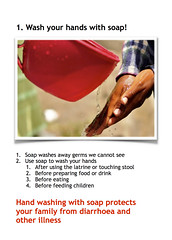 Card 1 - Wash Your Hands with Soap