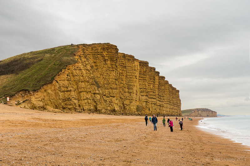 The cliffs at West Bay, Dorset