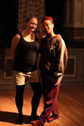 Tatiana Palanca og Silja Solvang  er koreografar for Grunn!