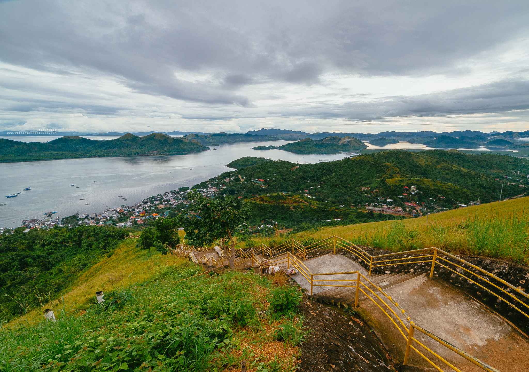 You can see Coron's islands. Definitely worth it.