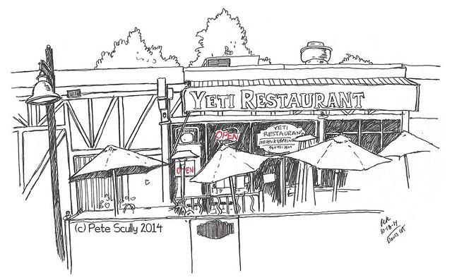 yeti restaurant, davis