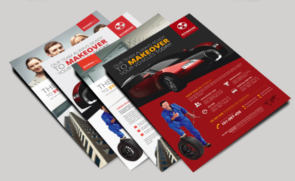 Business Automotive Flyer Design