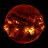 Giant Sunspot Erupts on October 24, 2014