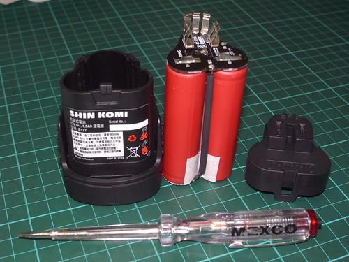 2v充电电钻,镍镉电池故障