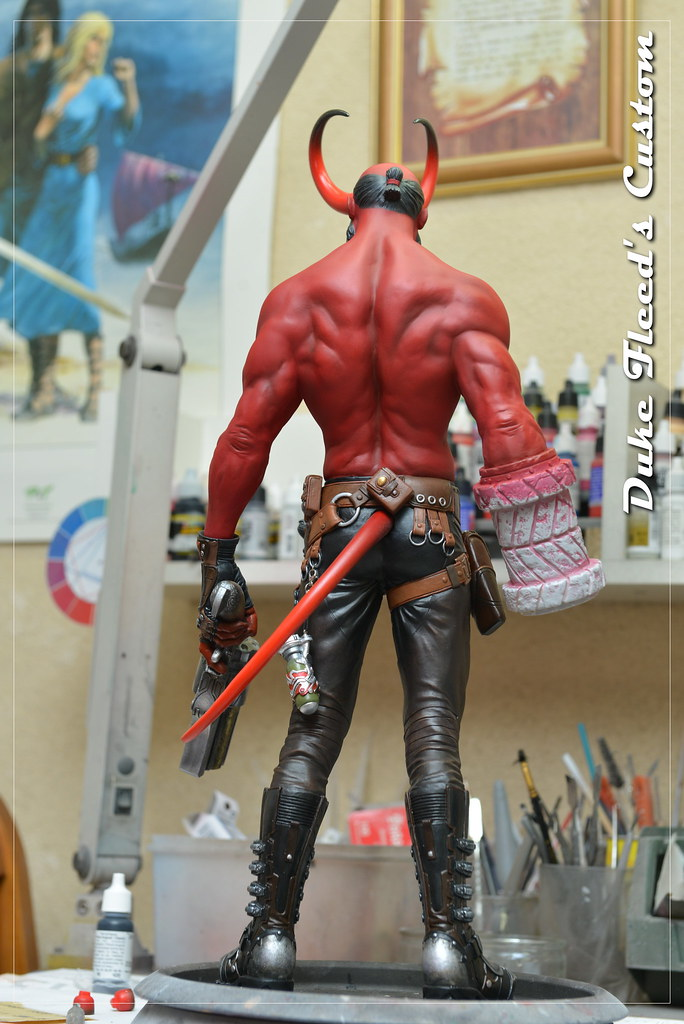 Hellboy 1/4 by Narin  15611300956_061079cafe_b