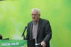 MP Winfried Kretschmann beim Kreisvorständetreffen