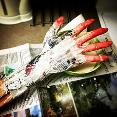 Getting crafty for the office #halloween #beetlejuice #office #crafty