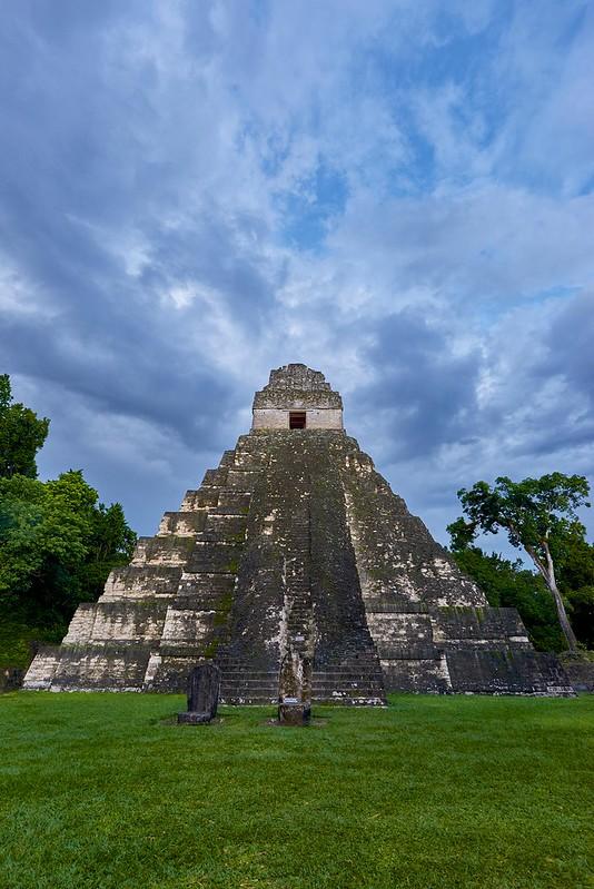 Thunderstorm over Temple I - Tikal