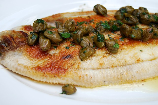 Buttered Dover Sole at Roast, Borough Market