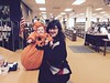 A cute pumpkin just visited the library!