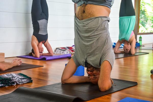 Yoga Teacher Training in Costa Rica Headstand