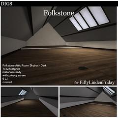 DIGS - Folkestone Attic Room - Dark FLF