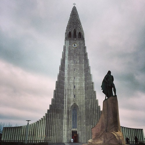 Hallgrimskyrkan i Reykjavik