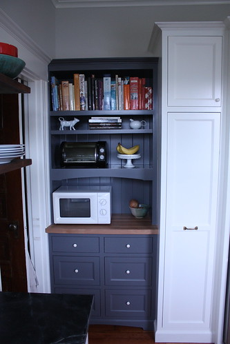 Kitchen, North Wall, Built-In Hutch