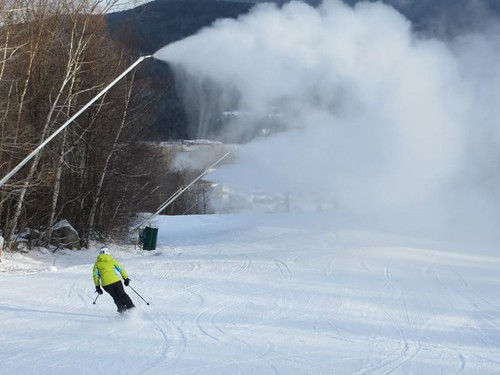 Bretton Woods snowmaking
