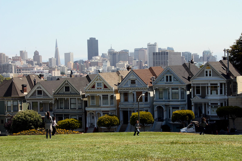 victorian buildings in san francisco