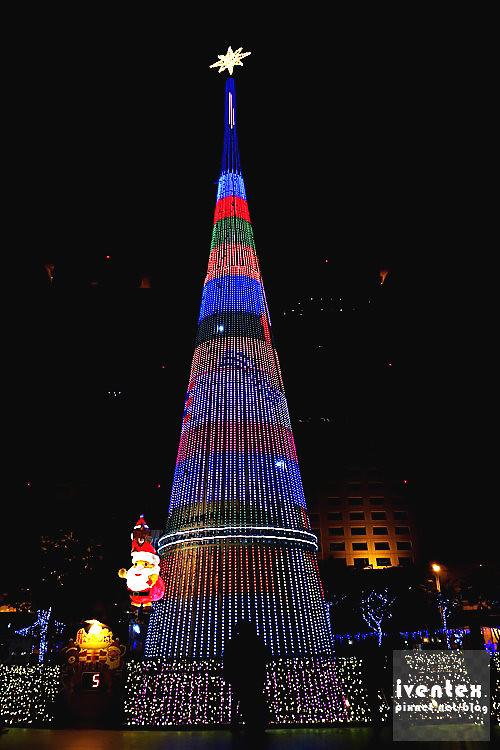 19刀口力2014新北市歡樂耶誕城新北市市民廣場耶誕樹