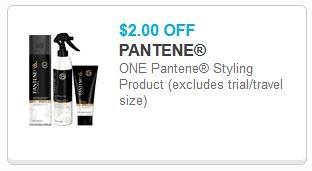 picture about Pantene Printable Coupons known as $4/2 Pantene Shampoo/Conditioner and $2/1 Pantene Styler