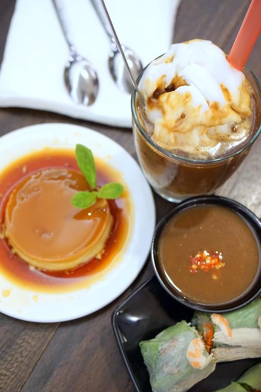 obanhmi - french toast, coconut milk coffee
