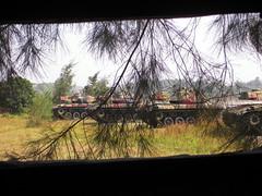 Sab, 12/10/2013 - 13:58 - Triangle Fortress of Cihu - 三角堡 - Fortezza Triangolare di Cihu: Tanks