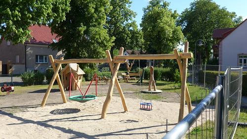 Neuer Spielplatz in der Dorfstraße #1