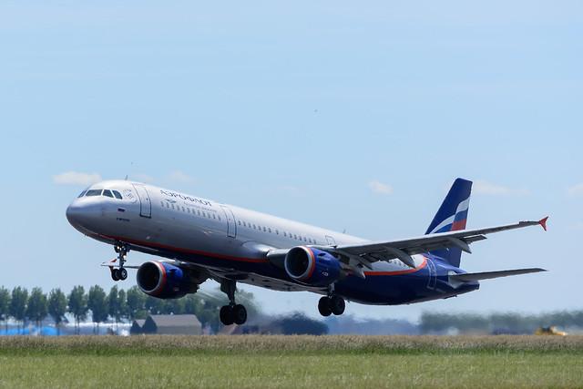 Aeroflot Airbus A321, AMS