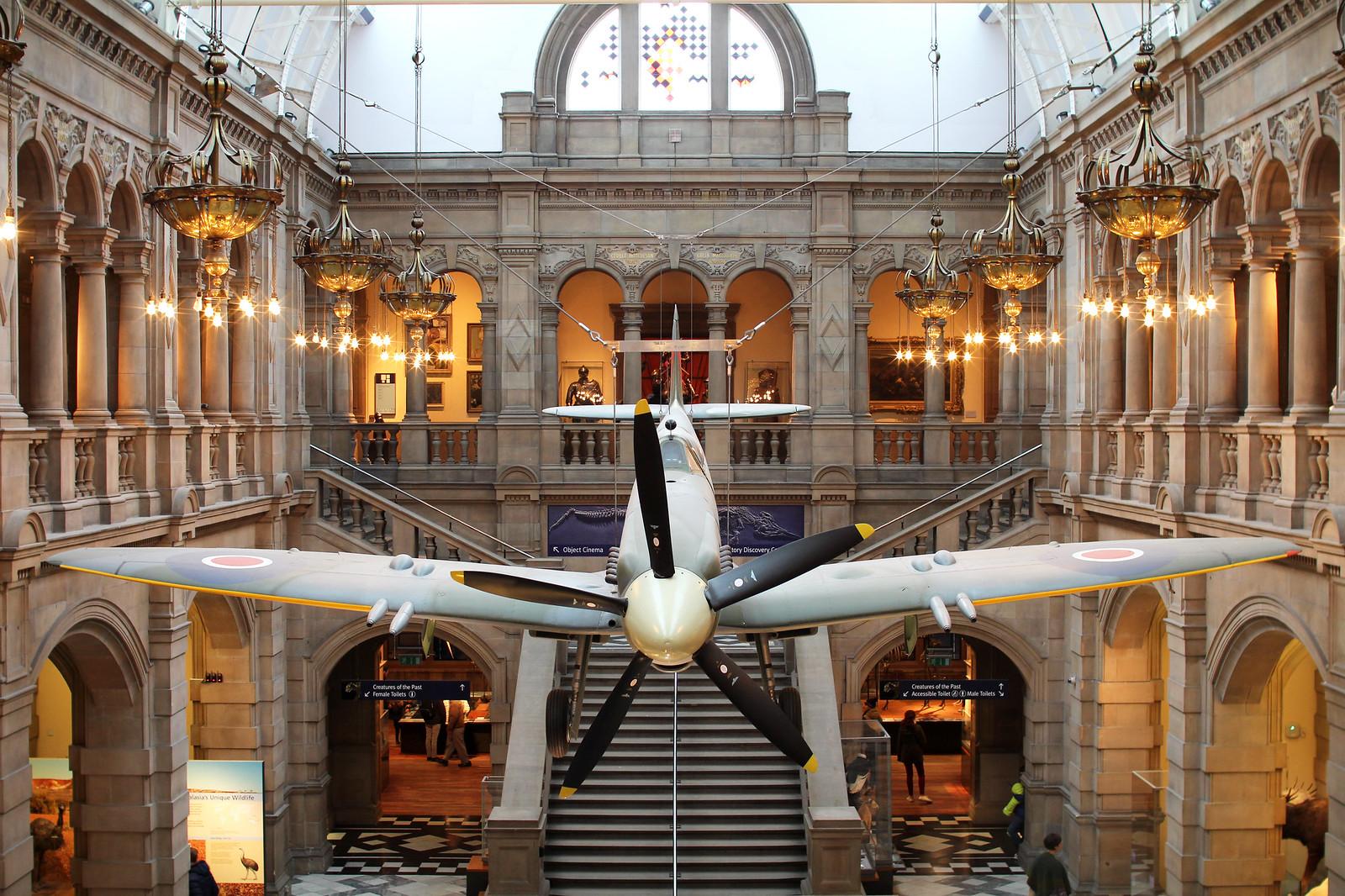 Kelvingrove Gallery Glasgow UK travel blogger
