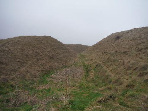 Outer Bank, Battlesbury Hill