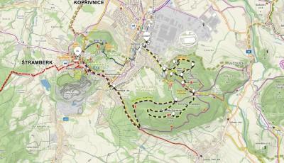 4. trasa z Kopřivnice přes Šostýn a Červený kámen – 13 km (propozice + mapa)