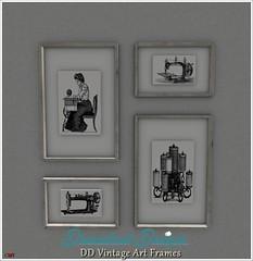 DD Vintage Art Frames Vendor