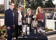 Stumptown Coffee at Hopelink's Shoreline Grand Opening Event