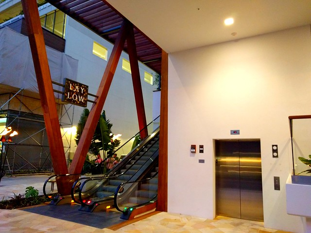 Entry to the Laylow Waikiki Hotel