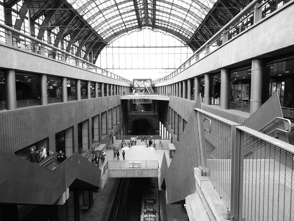 Estación de Amberes. Antwerpen station. #antwerp #amberes #belgium #arquitectura #photography #architecture