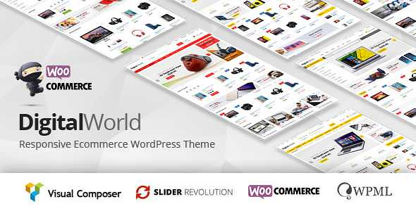 Digitalworld WordPress Theme free download