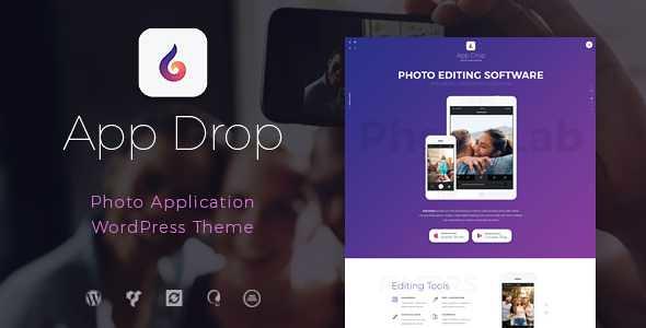 App Drop WordPress Theme free download