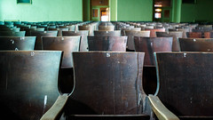 Row H Seat 8