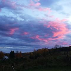 #sunrise #bigpink #vermont
