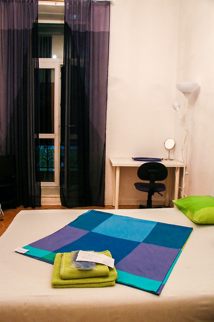 "Single room of ""Home Hotel At Kamergersky Pereulok"", Moscow"