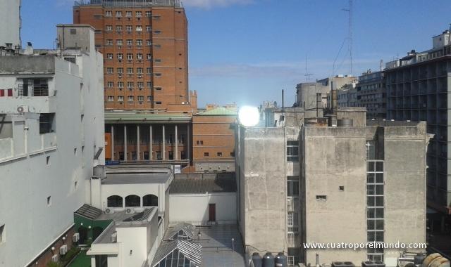 Vistas desde nuestro apartamento en Montevideo