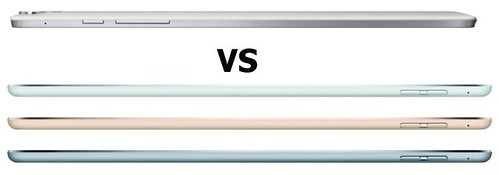 Дизайн iPad Air 2 и Nexus 9