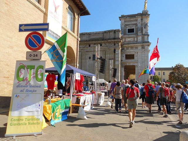Girandoliamo Ctg e marcia per la Pace, Assisi
