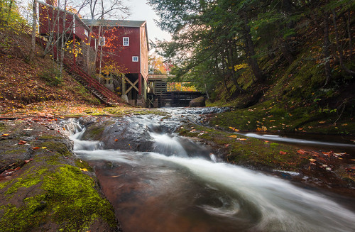 longexposure autumn trees canada fall mill water novascotia ns gristmill tatamagouche balmoralmills balmoralgristmill
