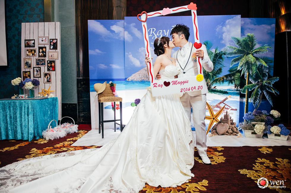 台北婚攝 蘆洲晶贊 婚禮紀錄歐文 新祕筑欣 Ray & Maggie