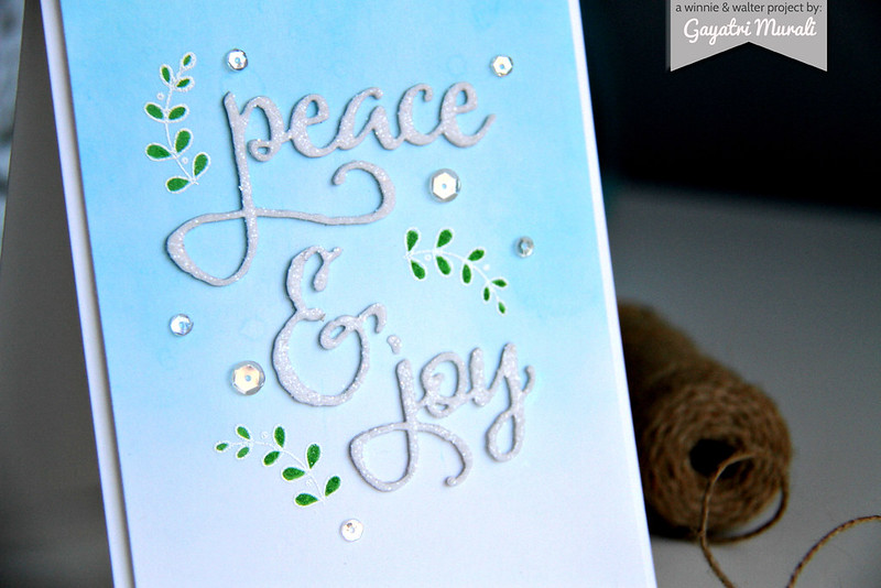 Peace & Joy! closeup
