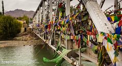 Ladakh flag bridge