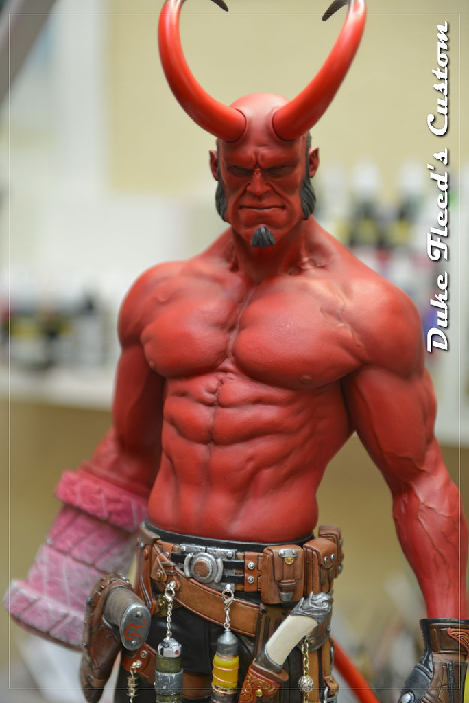 Hellboy 1/4 by Narin  15014836713_ce651661dc_b